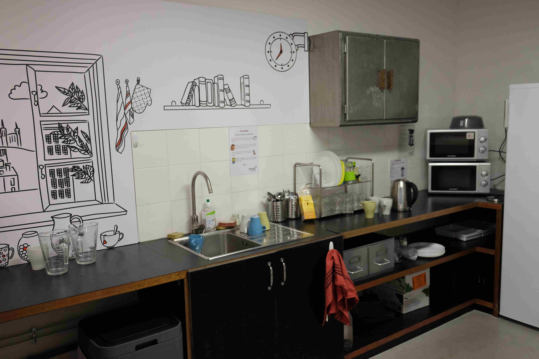 Le Corner, kitchenette du Centsept