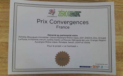 Le Centsept récompensé au Prix Convergences 2017