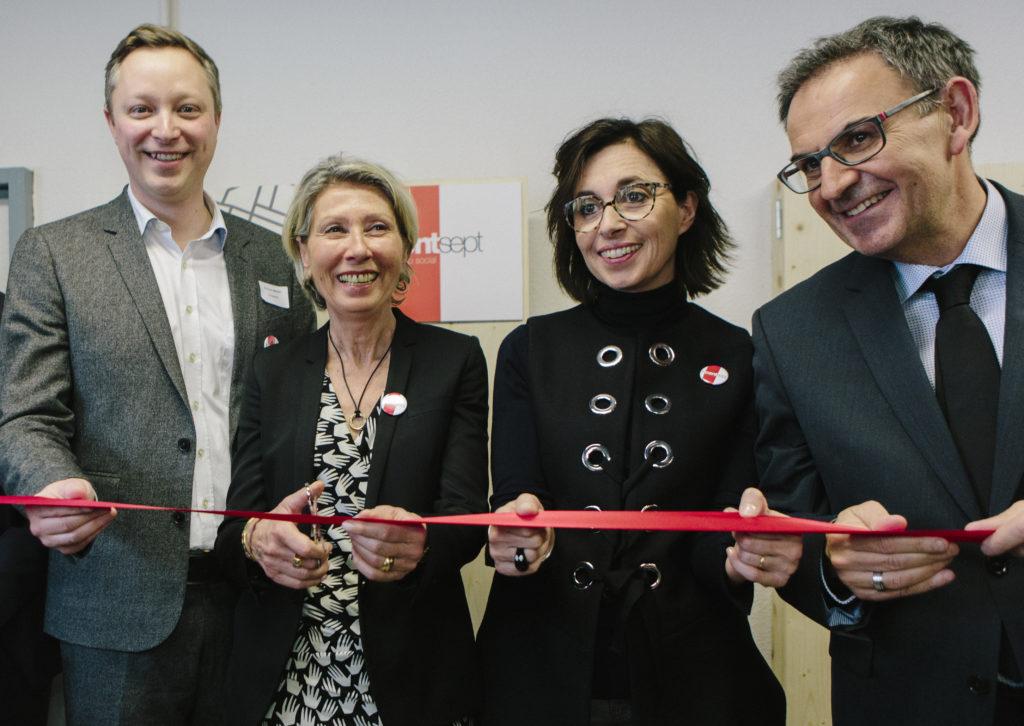 Inauguration du Centsept en février 2017