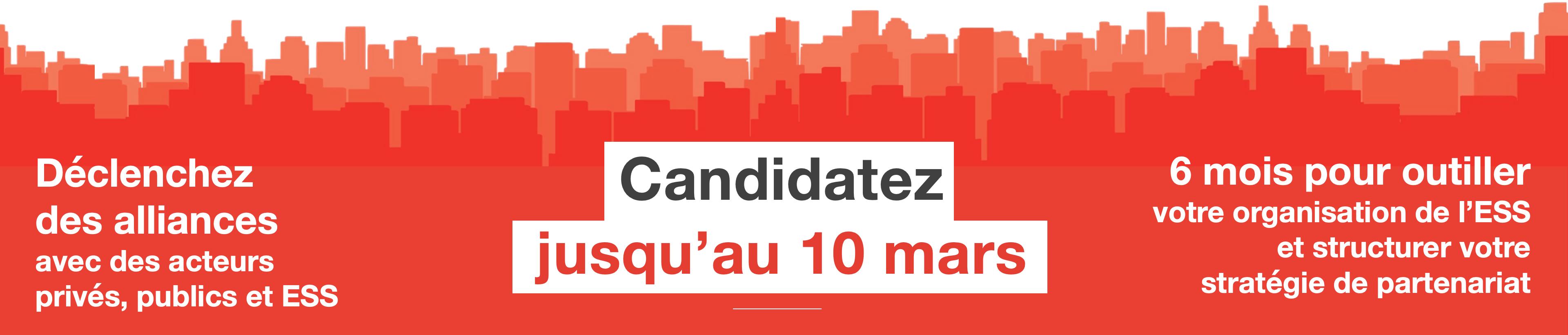 programme accélération candidates